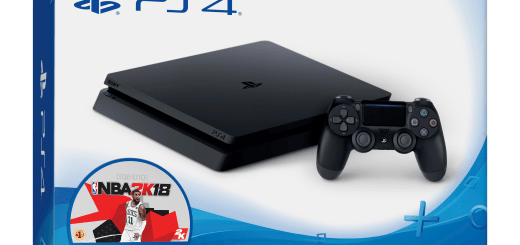 PS4 Slim NBA 2K18 Bundle