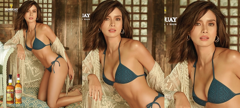 Erich Gonzales is the Tanduay 2018 Calendar Girl