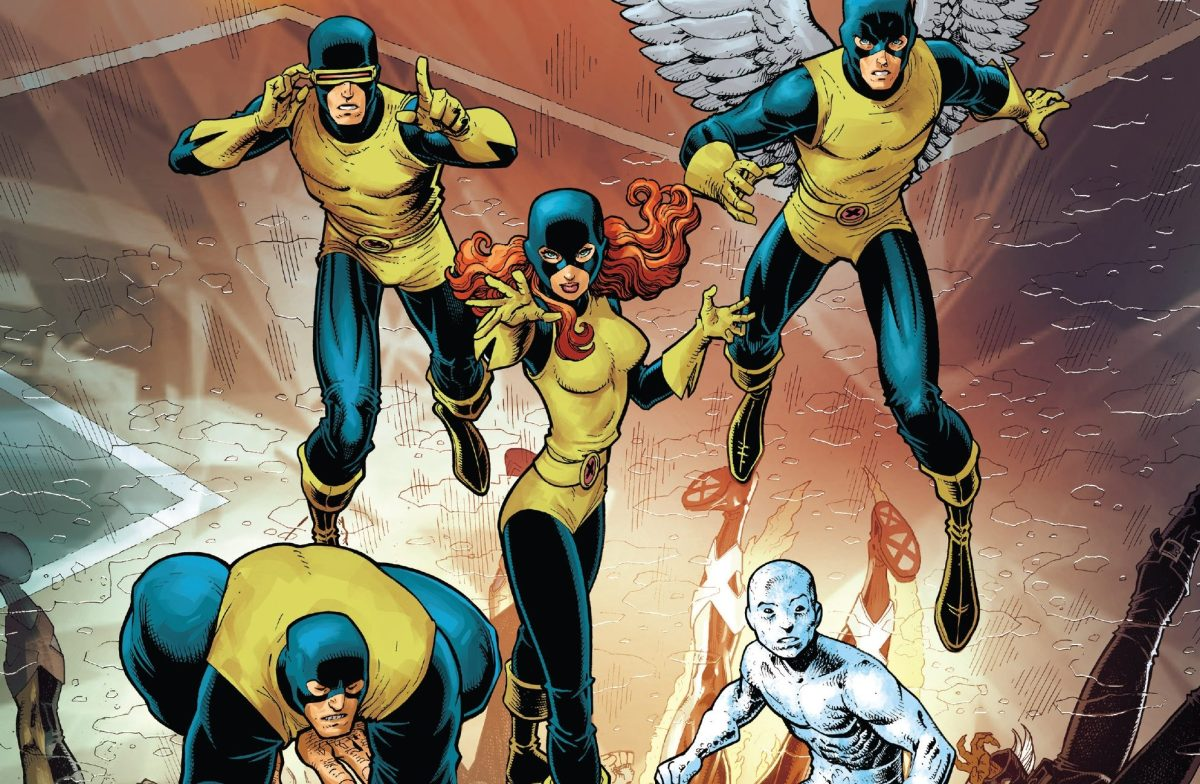 The Masterminds Behind the X-Men's Time Travel Misadventure Stand Revealed in X-MEN BLUE # 19