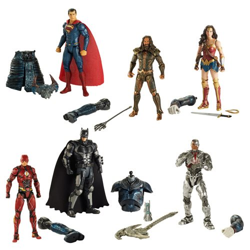 Justice League movie wave Mattel