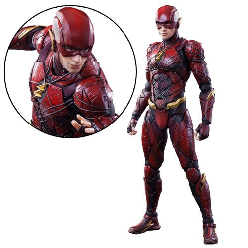 Play arts kai the flash justice league