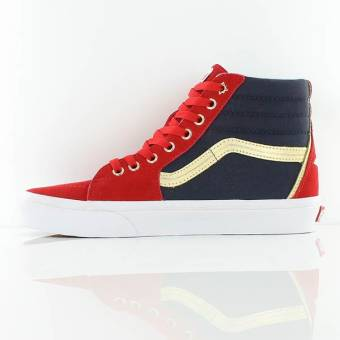 Vans Captain Marvel SK8-Hi Shoes Preview - The Fanboy SEO e84c06be4