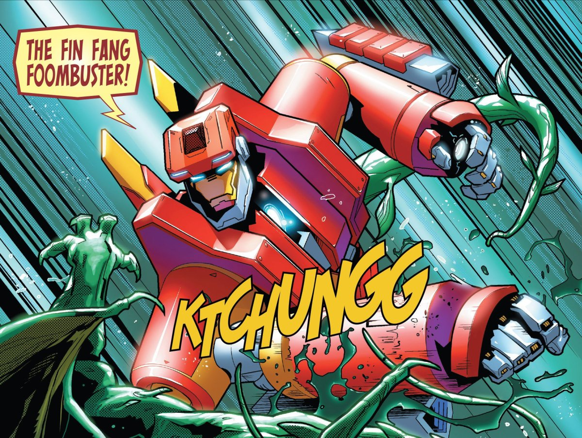 Tony Stark: Iron Man # 1 Introduces the Fin Fang Foombuster Armor