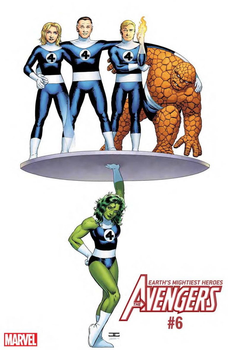 THE AVENGERS #6 by John Cassaday