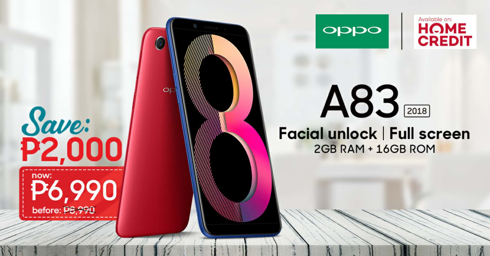 OPPO A83 now more competitive at PHP 6,990 with Face Unlock