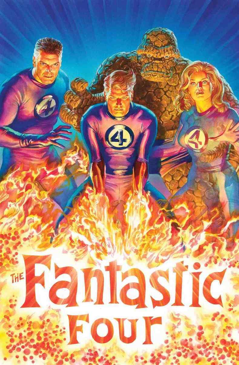 fantastic four # 1 alex ross