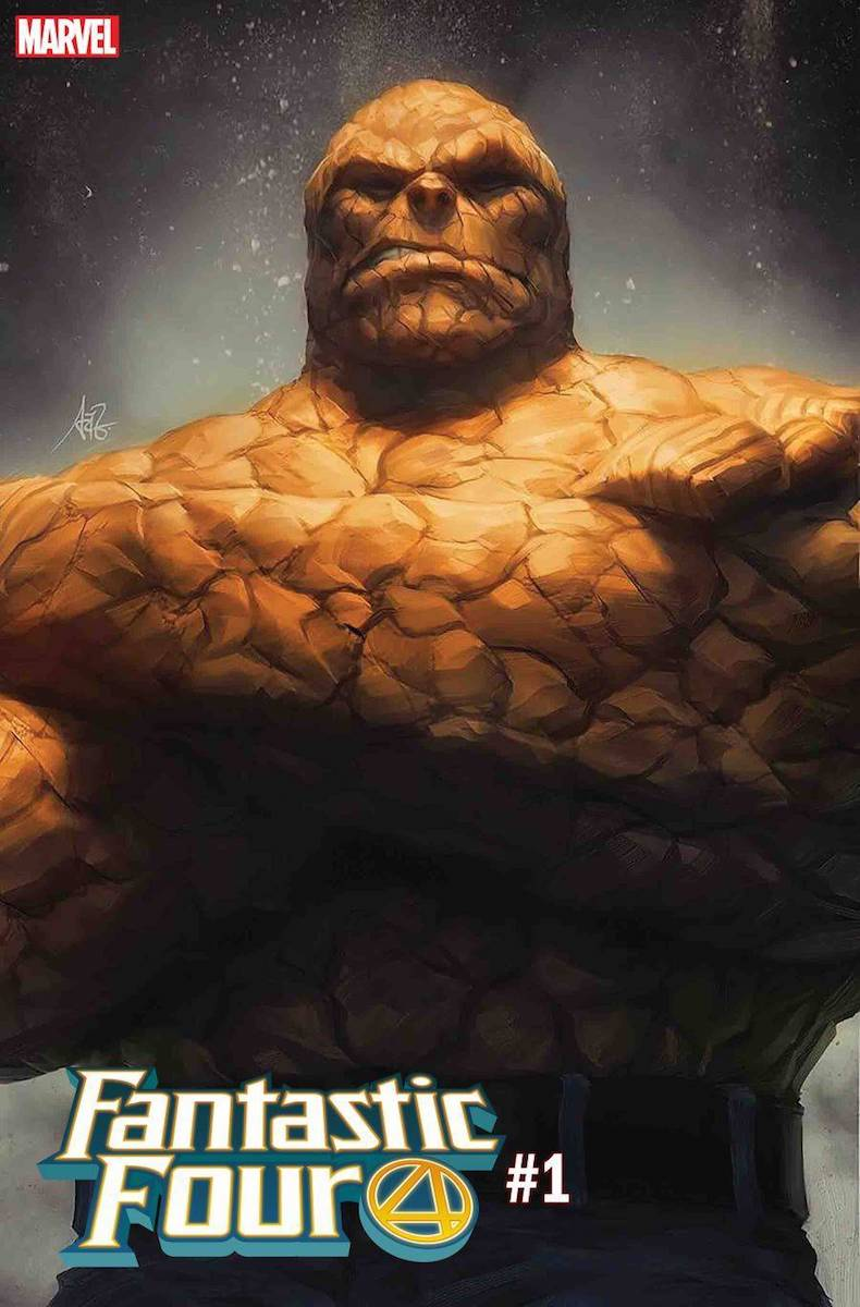 fantastic four # 1 artgerm variant thing