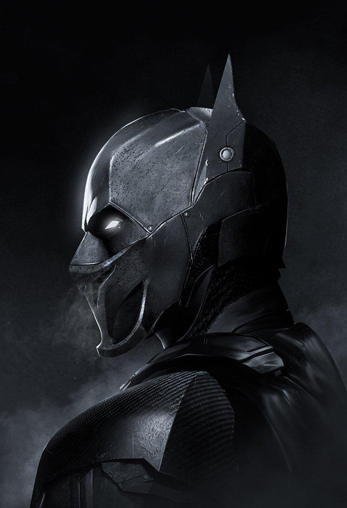 Oscar Isaac as Batman full mask