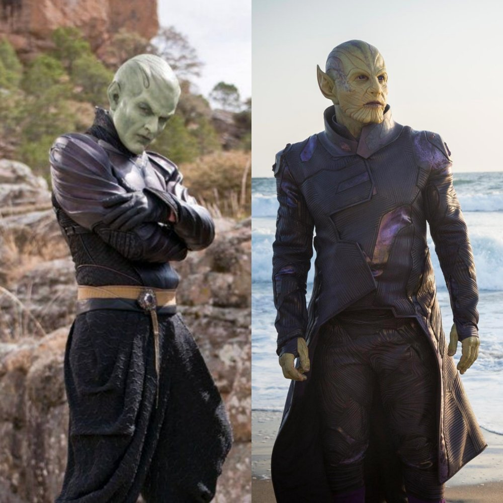 The Internet Compares Captain Marvel Skrulls To Piccolo From Dragon