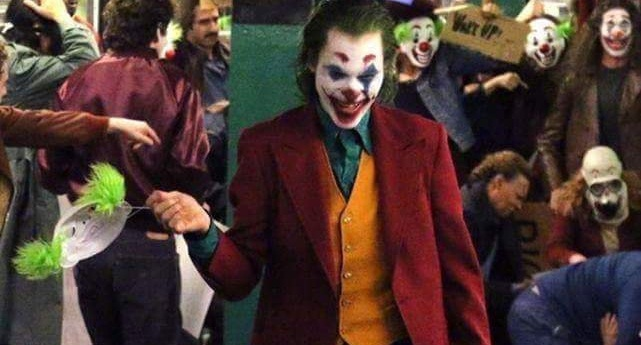 More Photos from The Joker with Joaquin Phoenix in Full Joker Costume
