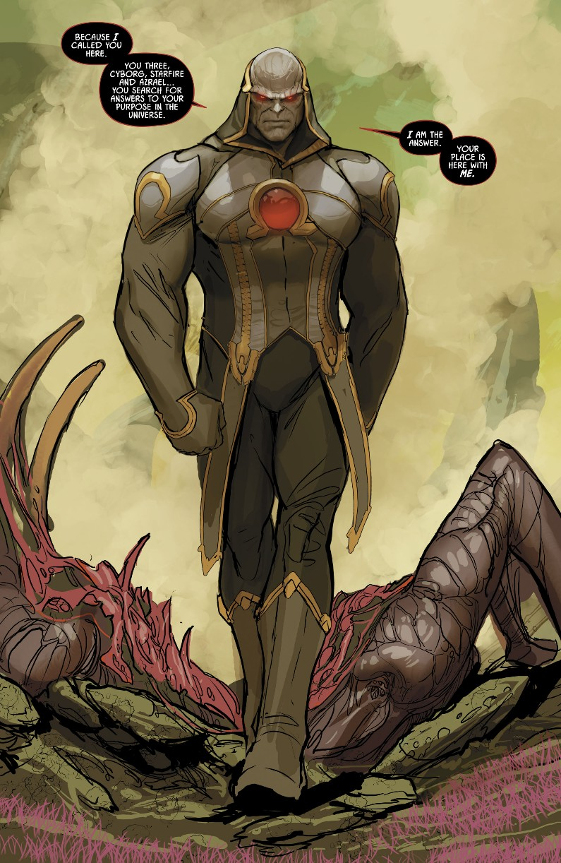 Darkseid in Justice League Odyssey # 1