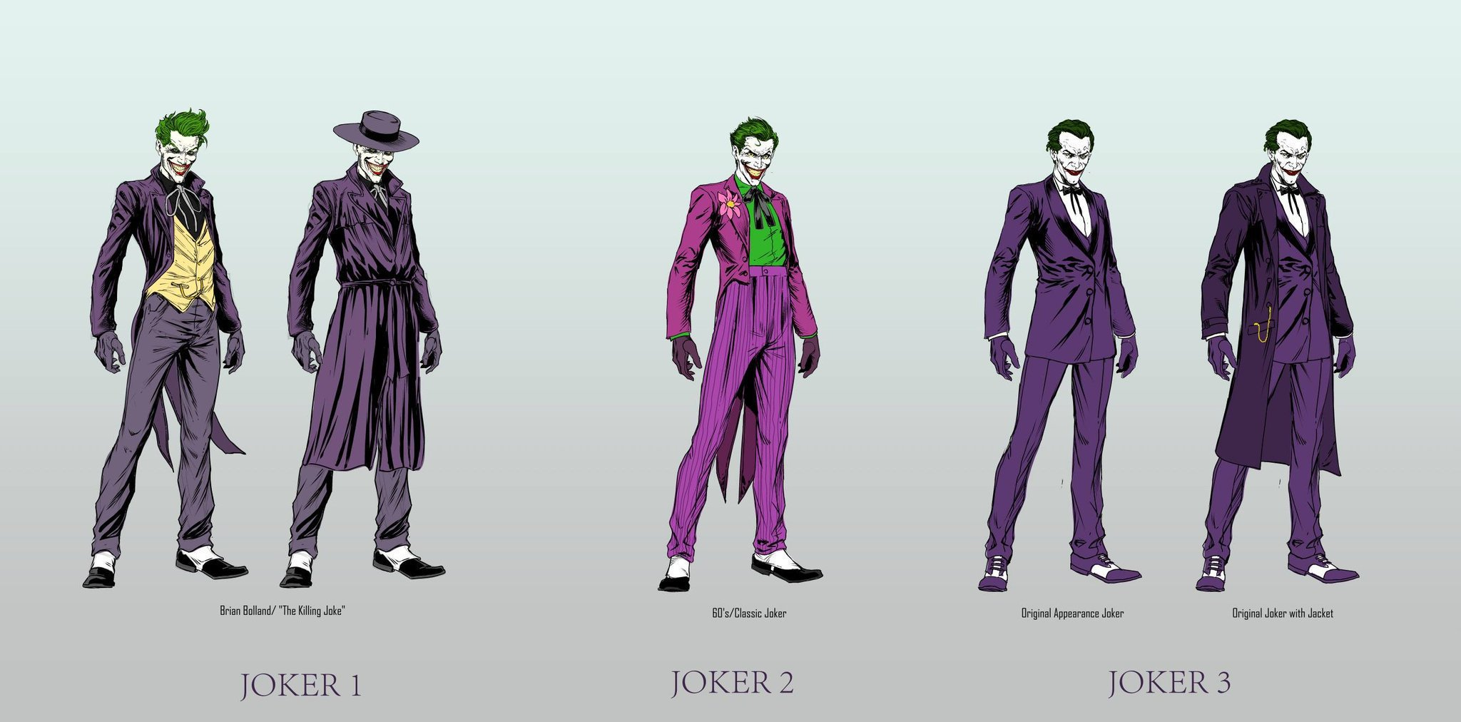 three jokers by Jason Fabok