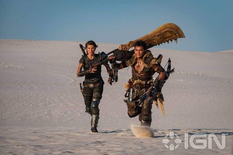 Monster Hunter Movie Finally Resembles the Game