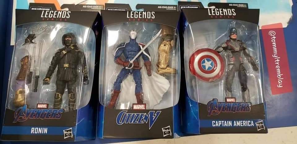 Marvel Legends Avengers: Endgame Wave Reveals Armored Thanos BAF