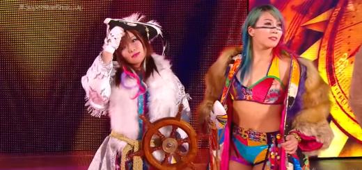 wwe smackdown live kairi sane and asuka tag team challengers