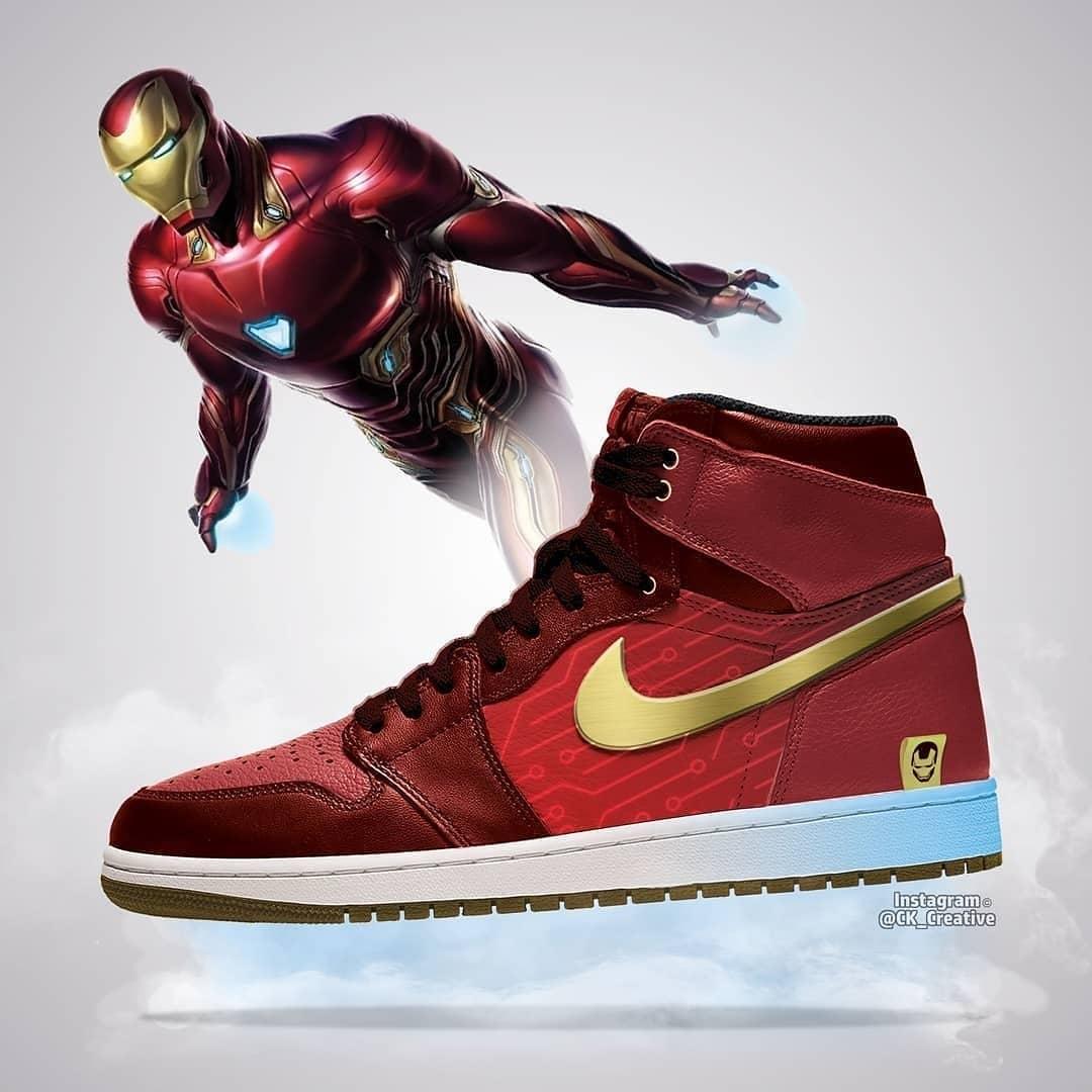 Avengers: Endgame Air Jordans Designs - The Fanboy SEO