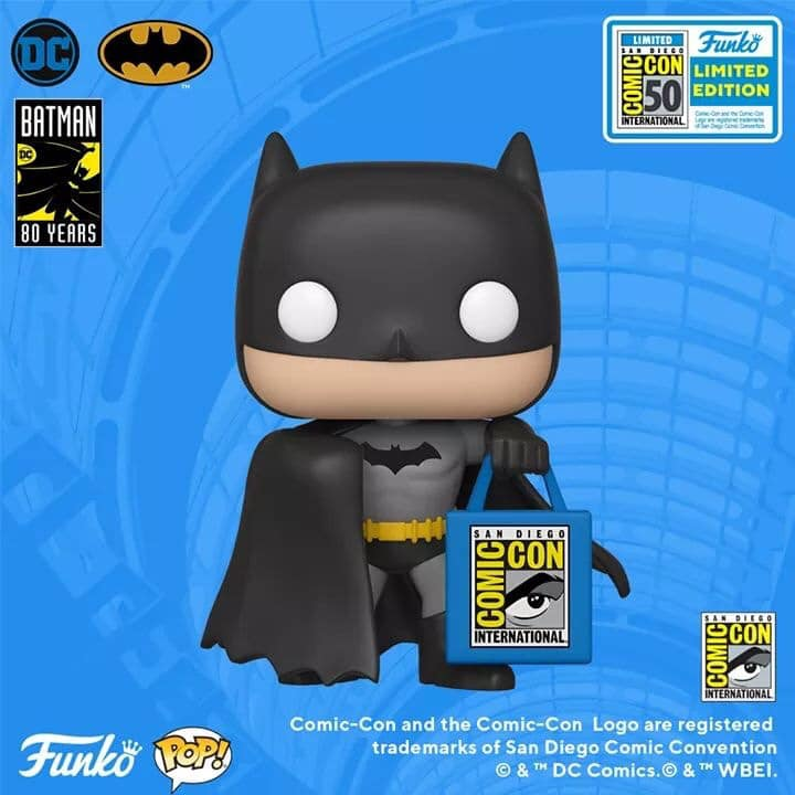 Funko's SDCC 2019 Exclusive Figure is Funko Batman with
