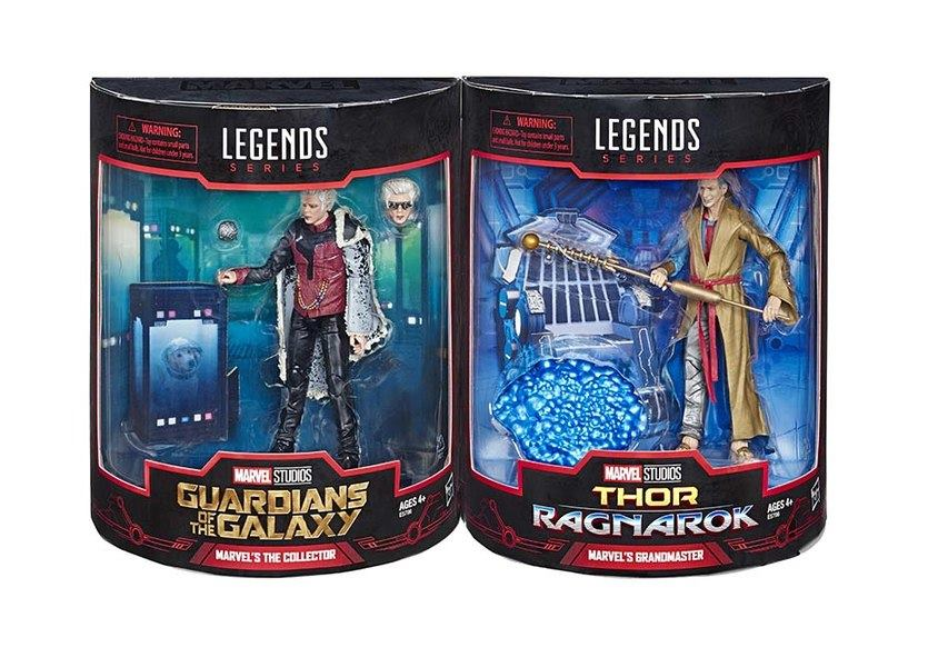 Marvel Legends Collector and Grandmaster SDCC 2019