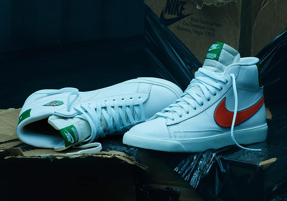 The Nike x Stranger Things Blazer.