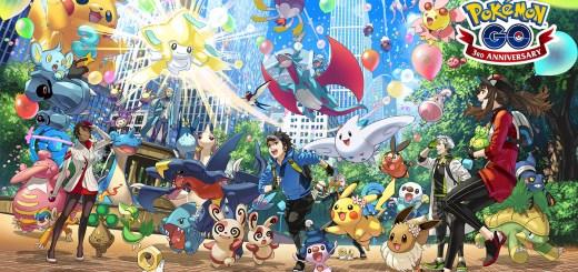 pokemon go third anniversary