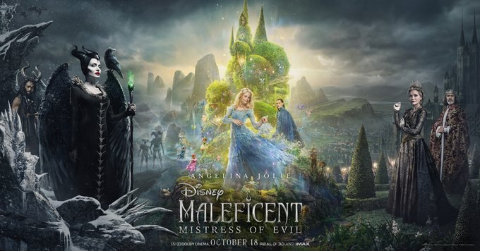maleficent 2 poster d23 expo