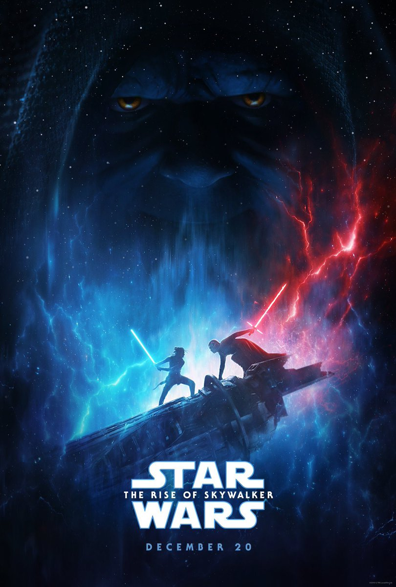 star wars rise of skywalker poster d23 expo