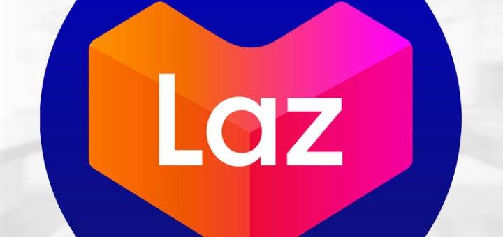 lazada logo blue