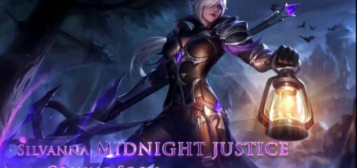 mobile legends bang bang silvanna midnight justice