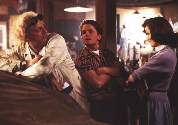 Christopher Lloyd,Lea Thompson,Michael J. Fox