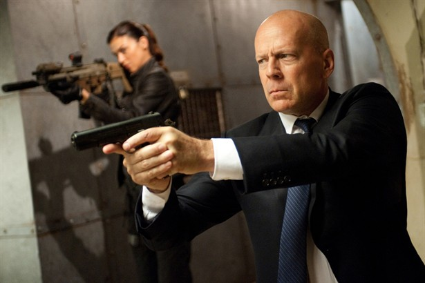 Adrianne Palicki,Bruce Willis