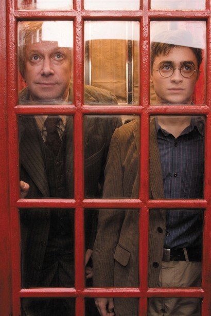 Daniel Radcliffe,Mark Williams