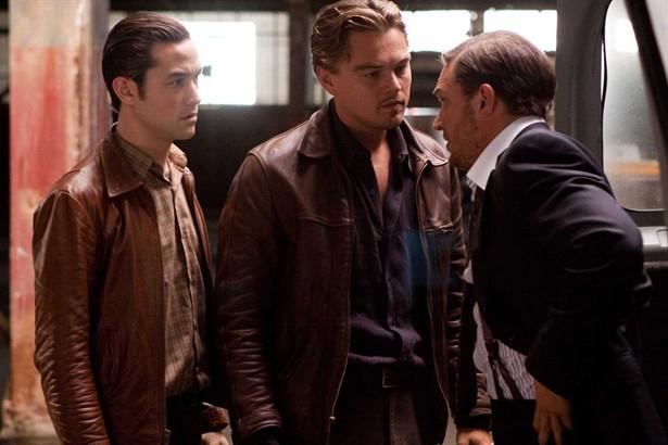 Joseph Gordon-Levitt,Leonardo DiCaprio,Tom Hardy