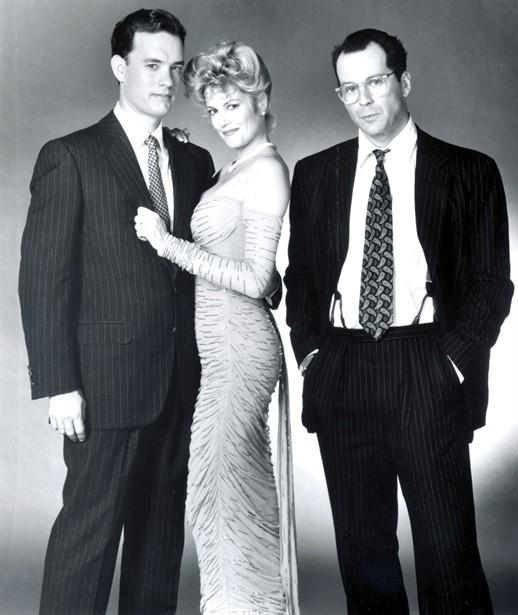 Bruce Willis,Melanie Griffith,Tom Hanks