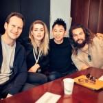 Amber Heard, Jason Momoa, Patrick Wilson