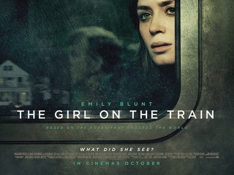Image result for the girl on the train 2016 poster