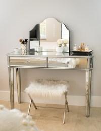 Mirrored Bedroom Vanity | www.imgkid.com - The Image Kid ...
