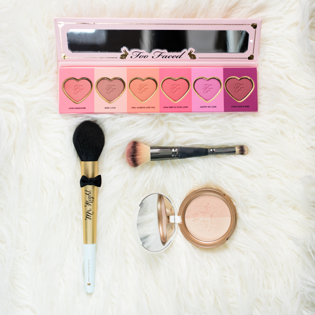 Blush and Highlight