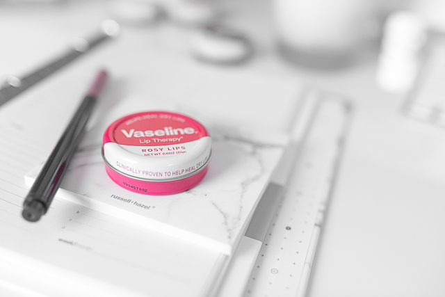 Vaseline Rose Lip Tin