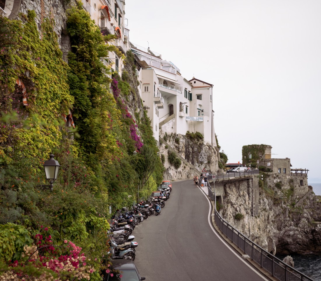 Amalfi Scenic View Fancy Things Honeymoon