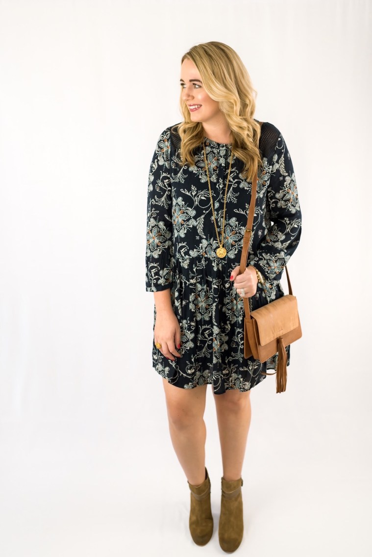 Hinge Crochet Trim Dress Fancy Things Nordstrom Sale