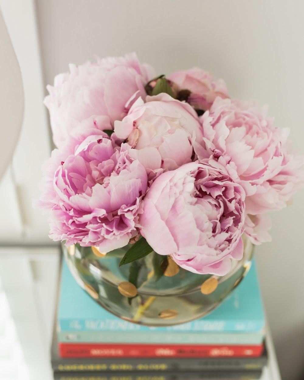 Pink Peonies Home Decor Kate Spade Vase