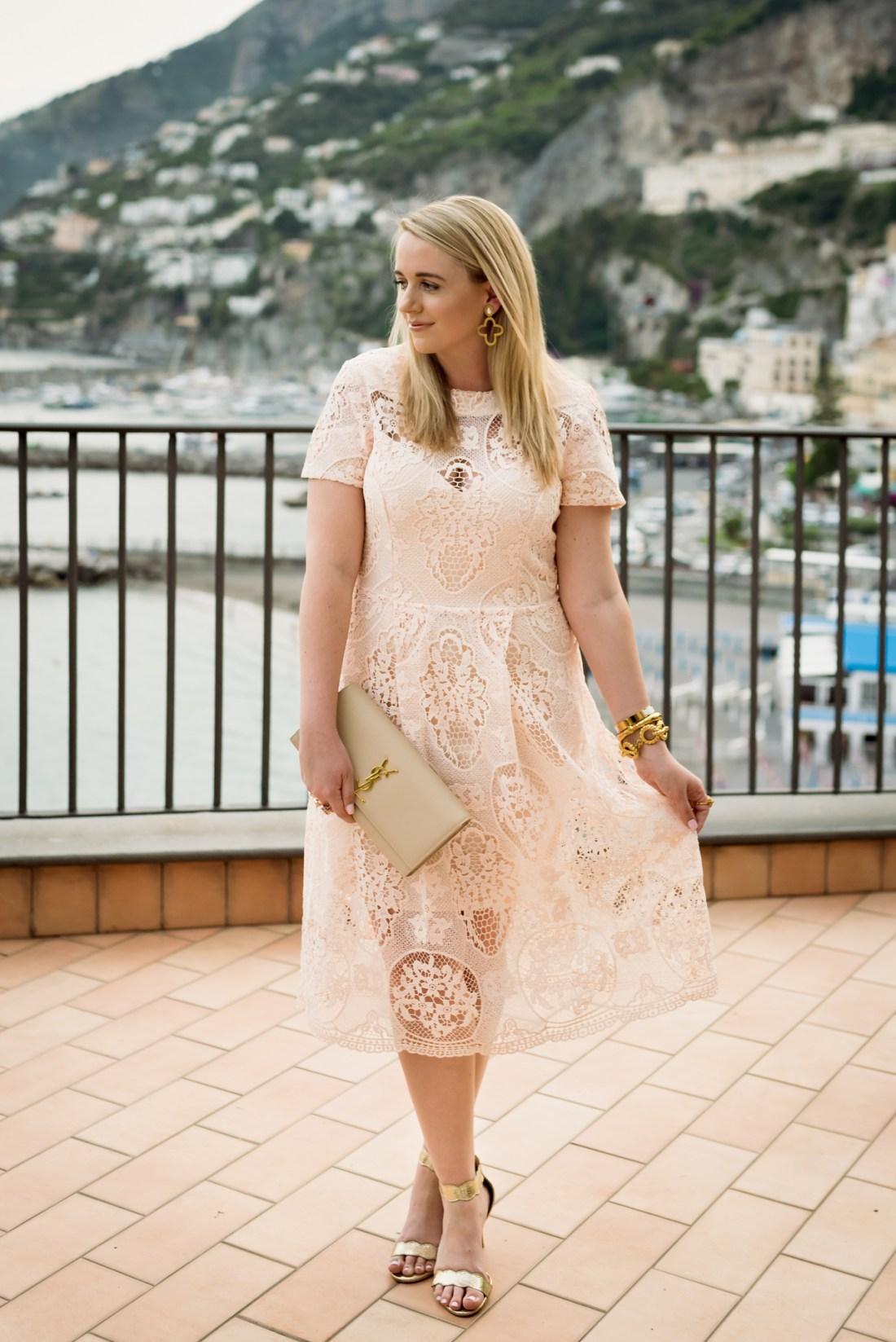 River Island Premium Lace Detail Midi Dress Fancy Things