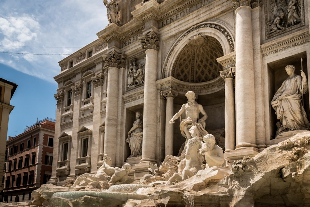 Rome Trevi Fountain Italy Honeymoon Fancy Things