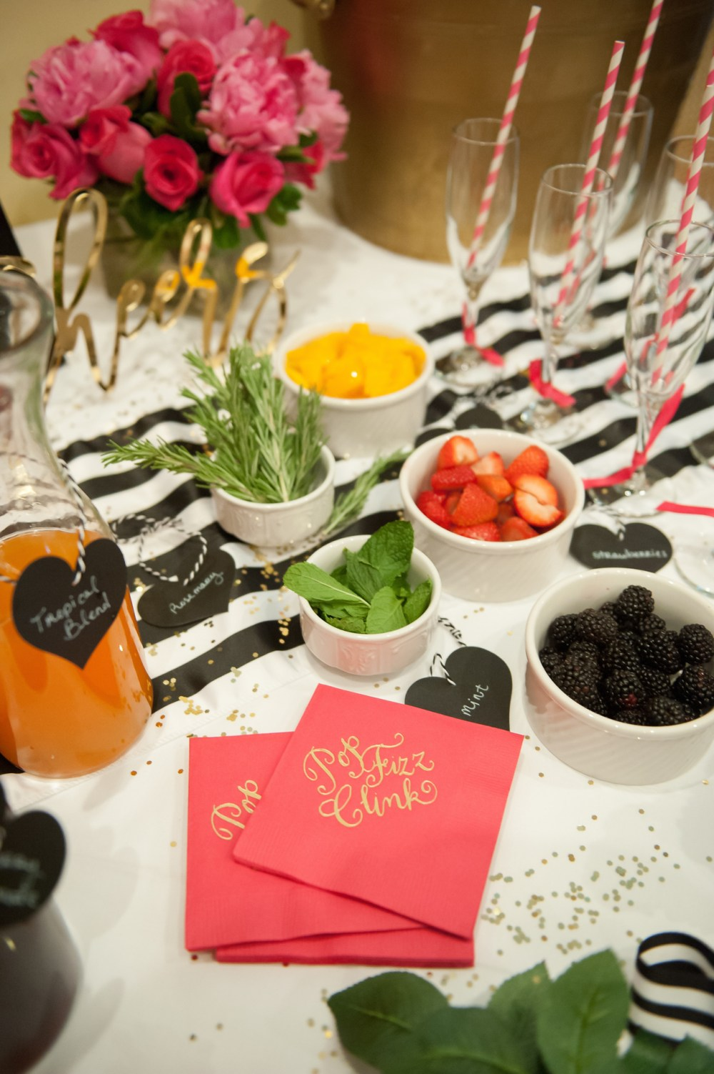 Bridal Shower Mimosa Bar Ideas Fancy Things
