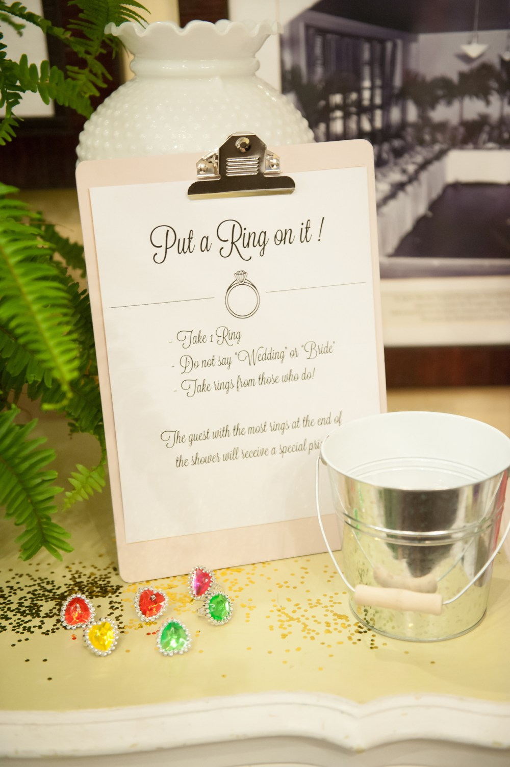 Bridal Shower Ring Game Idea Fancy Things