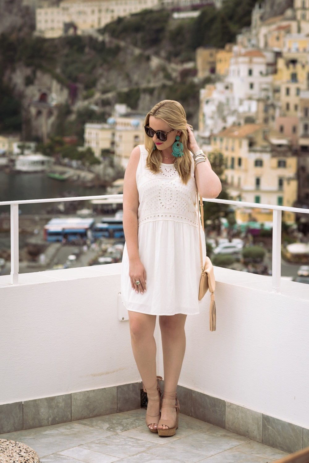 Italy Honeymoon Fancy Things Hinge Dress