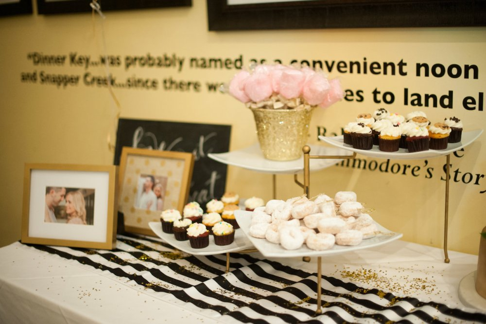 Kate Spade Bridal Shower Dessert Table Fancy Things