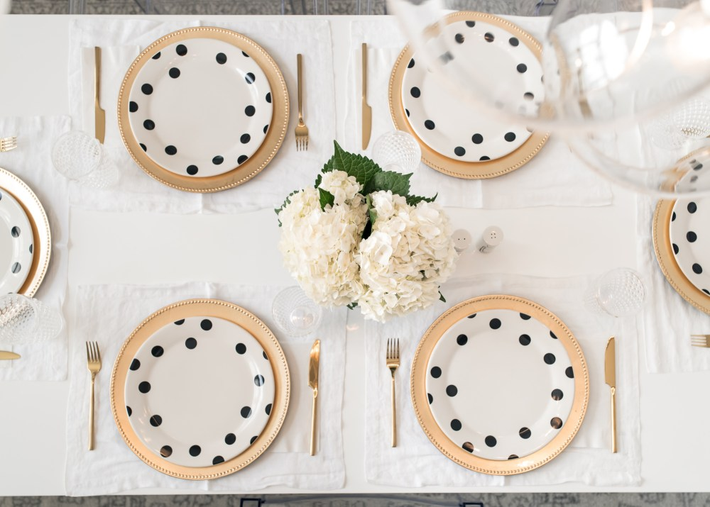 Kate Spade Deco Dot Collection Fancy Things Dining Room