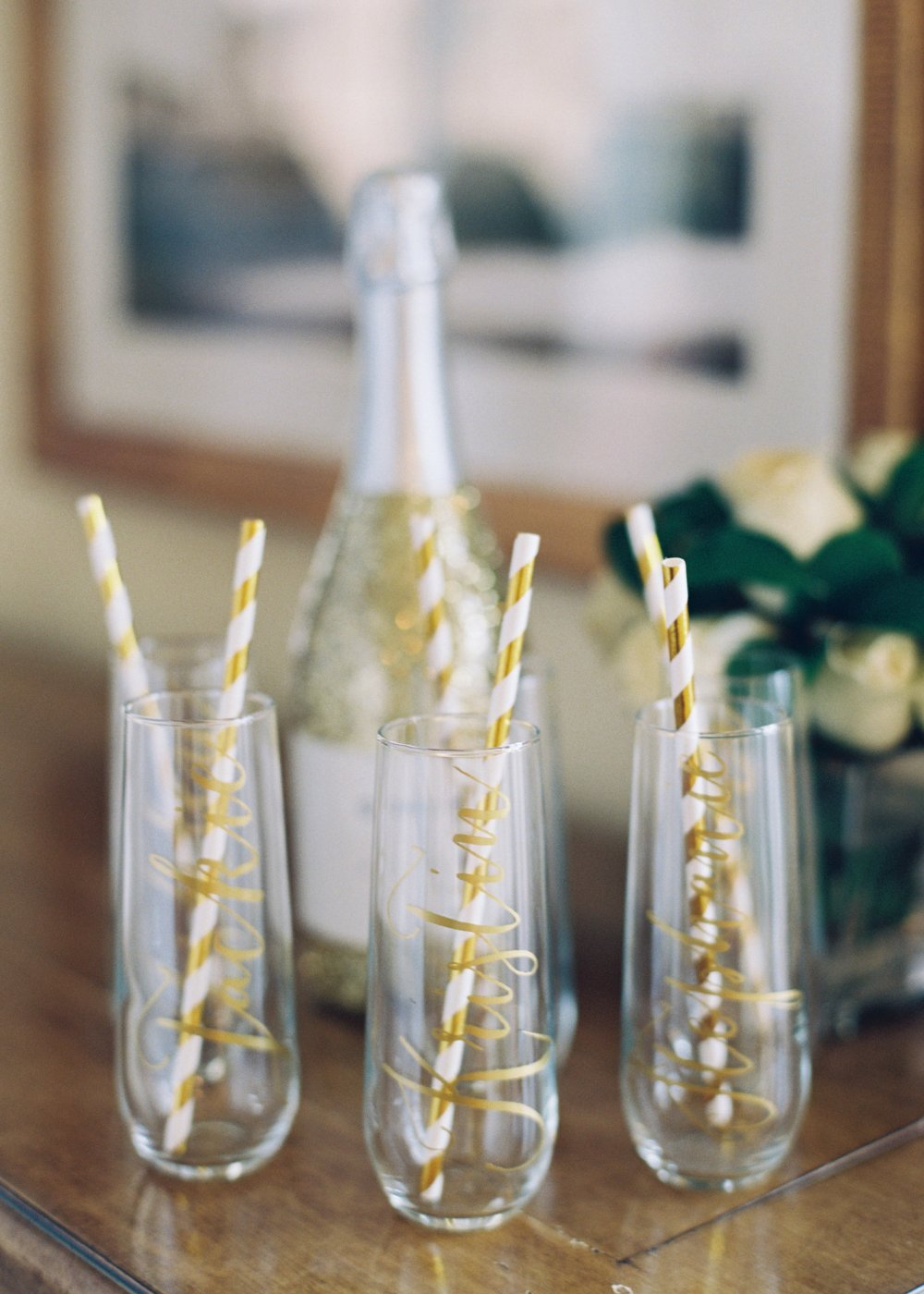 personalized-champagne-glasses-bridal-party-fancy-things-wedding