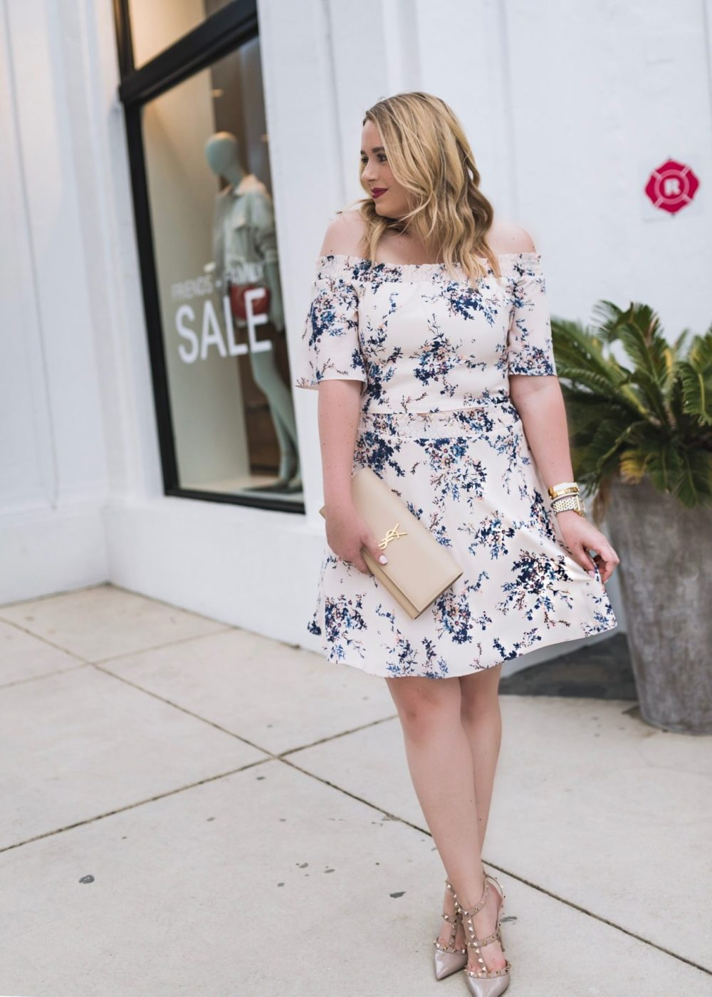Spring Outfit Inspiration with Florals Fancy Things